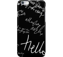 Adele Tour Confetti iPhone Case/Skin