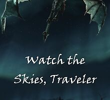 Skyrim-Watch the Skies Traveler by cbball8