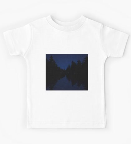 Night Time River Kids Tee