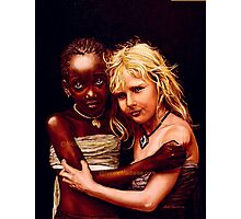 - Two sisters - Photographic Print