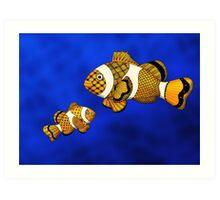 Clownfish Art Print
