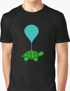 Floating Turtle Graphic T-Shirt