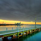 Muted Sunrise - Geelong by Hans Kawitzki
