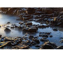Water, Rocks and Sunlight Photographic Print