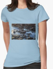 Water, Rocks and Sunlight Womens Fitted T-Shirt