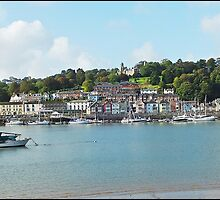 """"""" Looking across the River Dart"""" by Malcolm Chant"""