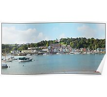 """ Looking across the River Dart"" Poster"
