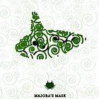 Majora's Mask Ocarina by CastleDownpour