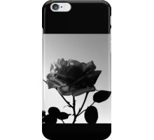 On the Verge of Being a Silhouette iPhone Case/Skin