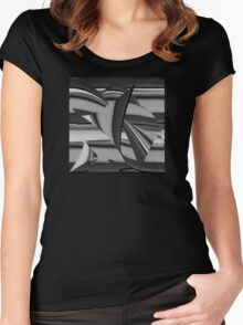 GRAY Women's Fitted Scoop T-Shirt