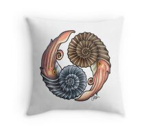 Ammonites Throw Pillow