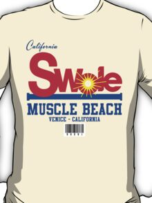 California Swole - Muscle Beach T-Shirt