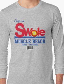 California Swole - Muscle Beach Long Sleeve T-Shirt
