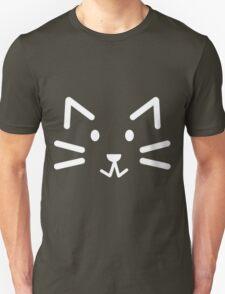 Black Simple Cat Unisex T-Shirt