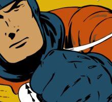 Captain Midnight Comic Cover Sticker
