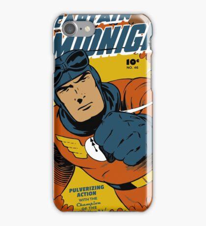 Captain Midnight Comic Cover iPhone Case/Skin