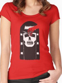 DEVIL'S HAIRCUT Women's Fitted Scoop T-Shirt