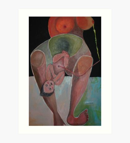 Childbirth Art Print