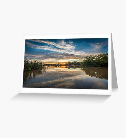 Reflecting Dreams and Emotions Greeting Card