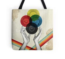 CMYK - the creation of retro Tote Bag