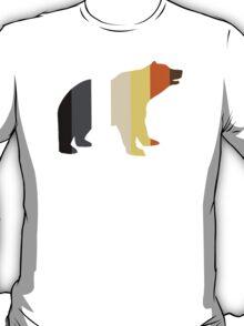 BEAR PRIDE STRIPED BEAR T-Shirt