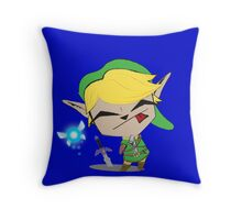 Link-Gir (full size) Throw Pillow