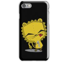 Lion-Gir iPhone Case/Skin