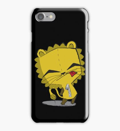 Lion-Gir iPhone Case/Skin