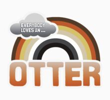 EVERYBODY LOVES AN OTTER by lgbtdesigns