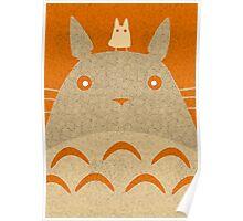 Totoro Vecchio Poster