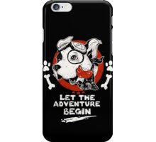 Let the Adventure Begin iPhone Case/Skin