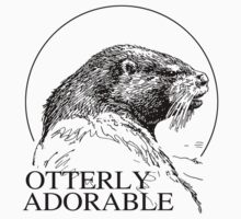 OTTERLY ADORABLE by lgbtdesigns