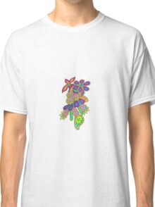Psychedelic Doodle Classic T-Shirt