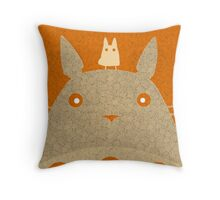 Totoro Vecchio Throw Pillow