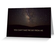 River Tam - Firefly Greeting Card