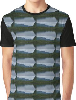 Forecasting Rain - Forest Lake Reflections in Charlevoix, Quebec, Canada Graphic T-Shirt