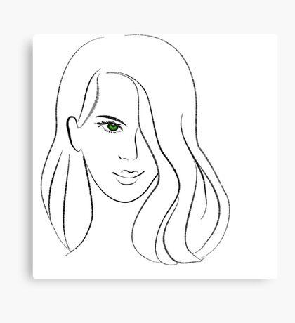 Pretty Woman Canvas Print