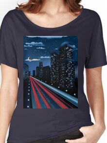 Night City Road 4 Women's Relaxed Fit T-Shirt