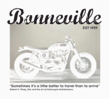 Triumph Bonneville, Zen and the Art of Motorcycle Maintenance by John Bowie