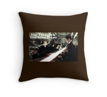 The Eccentric smoking club Throw Pillow