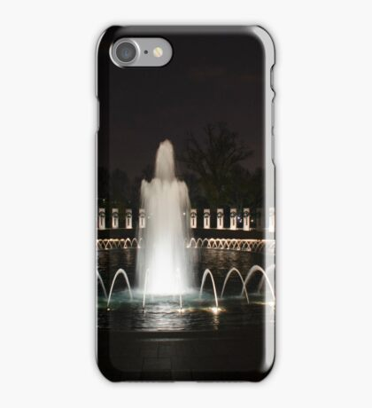 WWII Memorial, Washington DC iPhone Case/Skin