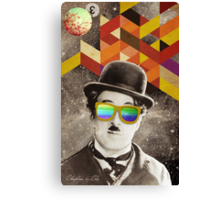 Public Figures Collection -- Chaplin by Elo Canvas Print