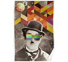 Public Figures Collection -- Chaplin by Elo Poster