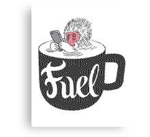 Coffee is Fuel Canvas Print