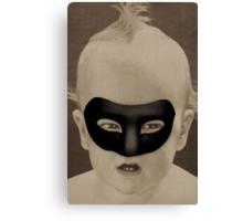 Retro Collection --  Baby Hero Canvas Print