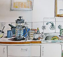 dishes by Evelyn Bach