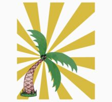 palm2 One Piece - Short Sleeve