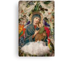 Saints Collection -- Madonna And Child Canvas Print