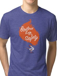 Good Mythical Morning Boiled For Safety Tri-blend T-Shirt