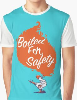 Good Mythical Morning Boiled For Safety Graphic T-Shirt